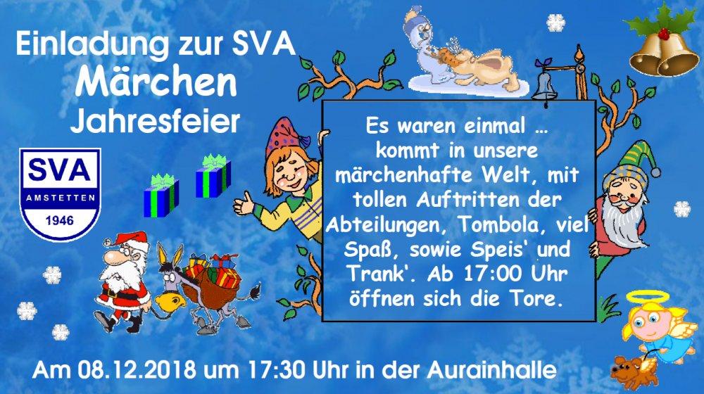 SVA Jahresfeier 2018