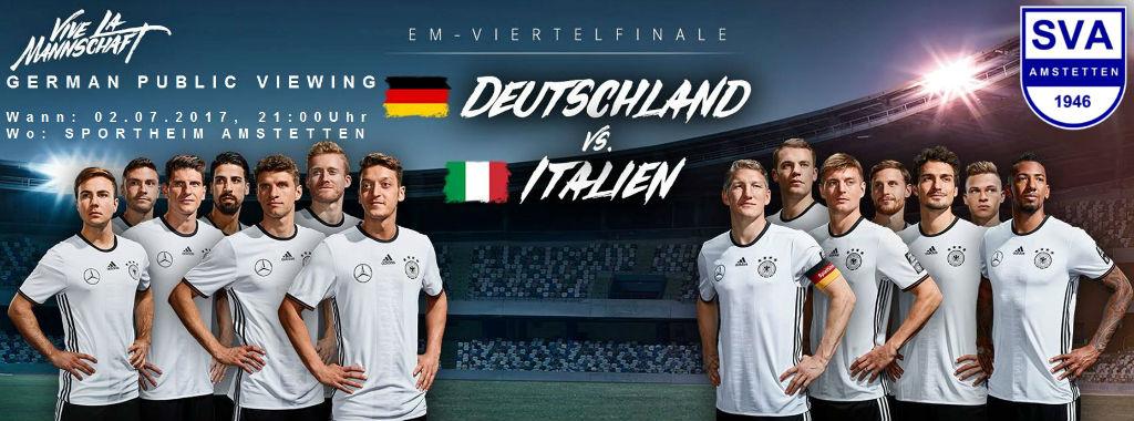 em 2019 deutschland vs italien